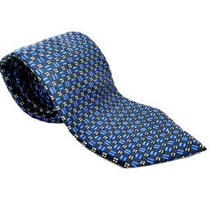 Lauren Ralph Lauren - Blue geometric Tie